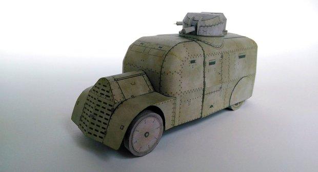 ABC 22: Vystřihovánky Škoda Fiat Torino a dioráma