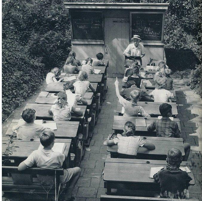 Nizozemsko, 1957: Dnes již neexistující venkovní třídy