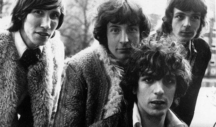Skupina Pink Floyd ještě se Sydem Barrettem (druhý zprava)