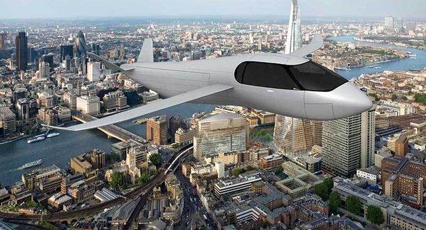 Moderní vynález: Vrtulové auto SkyCruiser