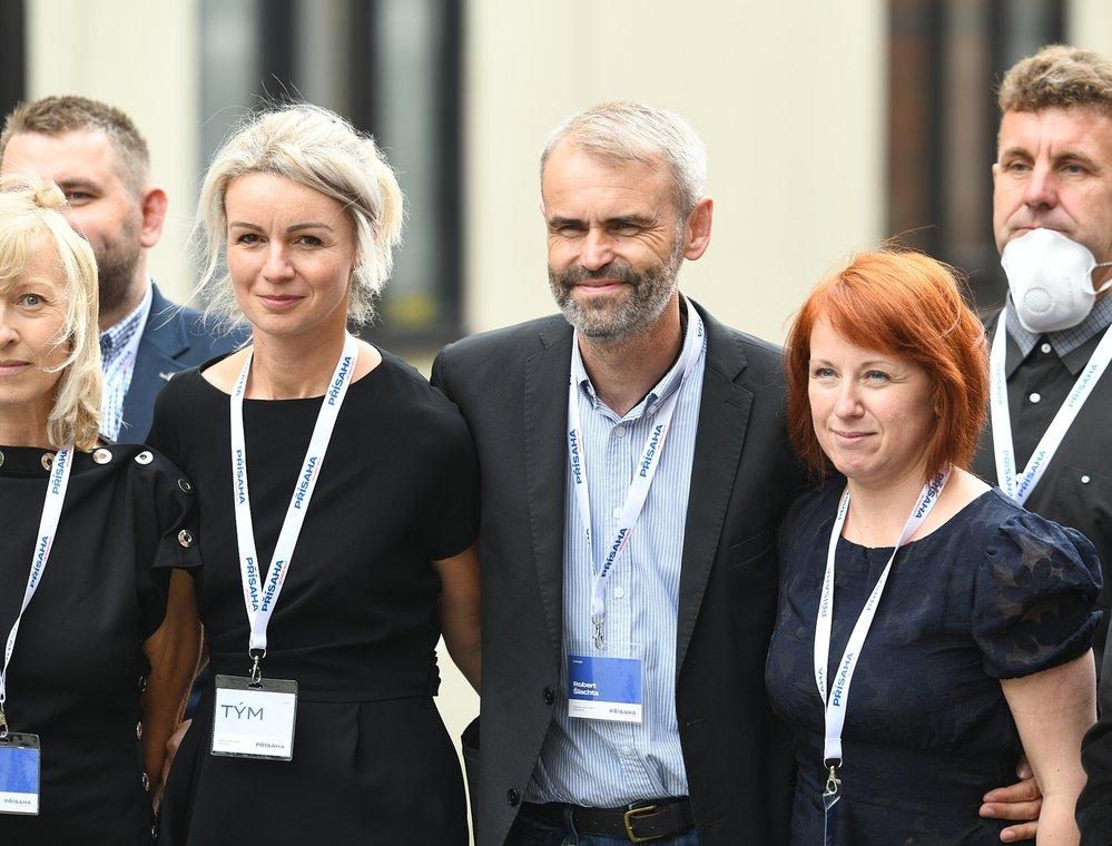 Volební sněm Přísahy – občanského hnutí Roberta Šlachty