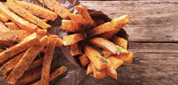 3 rýchle a zdravé dobroty zo sladkých zemiakov