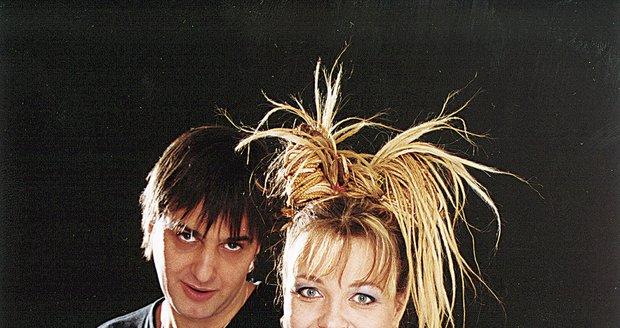 Slávek Boura a Markéta Mayerová byli v 90. letech tvářemi TV Nova.