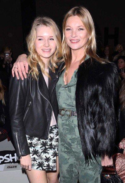 Lottie a Kate Moss