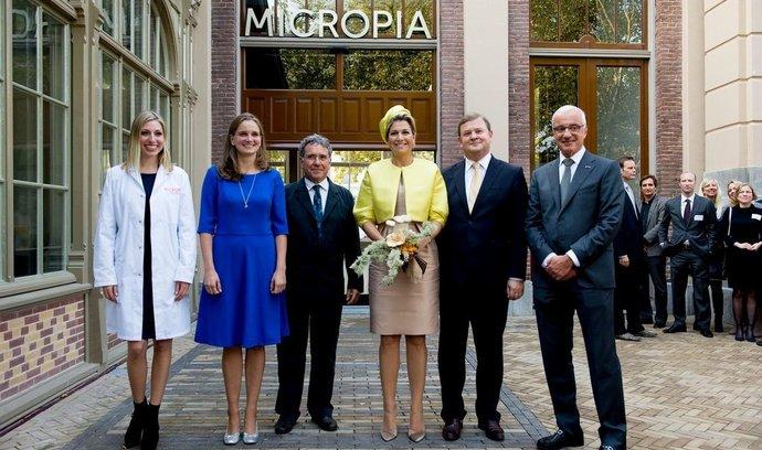Slavnostní otevření muzea Micropia