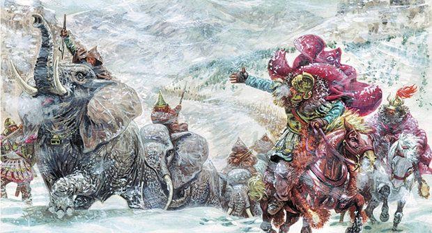 Sloni na sněhu: Kudy přešel Hannibal Alpy?