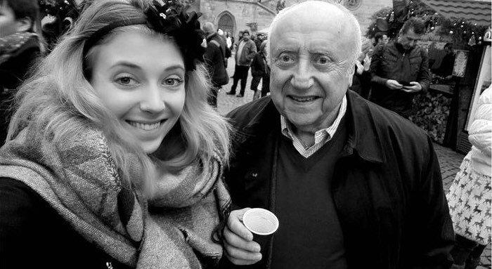Anička s tátou Felixem