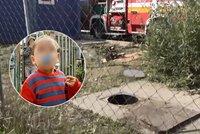 Chlapeček Kiki (†4) se utopil v odpadní šachtě: Zoufalý táta popsal, co se stalo