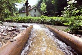 Vodní žlab Rakytovo nadchne milovníky technických památek i krásné přírody