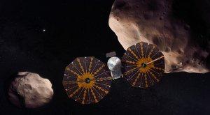 Kosmická sonda Lucy odstartovala prozkoumat říši trojánů