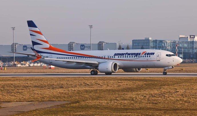 První let Boeingu 737 MAX aerolinek Smartwings po téměř dvou letech
