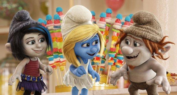 Nová upoutávka na Šmouly 2: Modrá je bláznivá