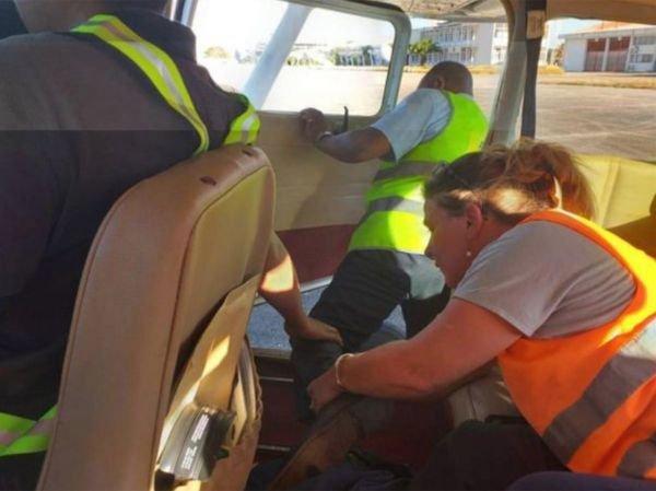 Vyšetřovatelé provedli v letadle rekonstrukci.