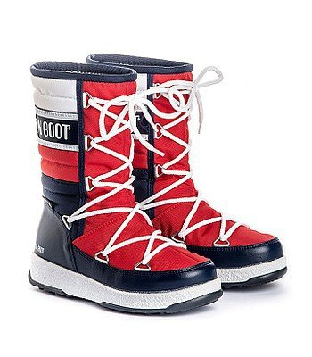 boty Tecnica Moon Boot W.E. Quilted WP - Navy/Red/White, 1999 Kč, snowboard-online.cz
