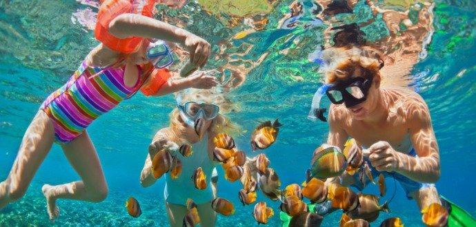 Pozorujte krásy moře: jak na šnorchlování pro začátečníky