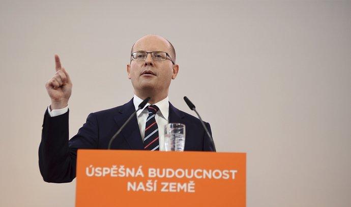 Bohuslav Sobotka, nominační projev na sjezdu čssd