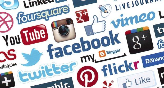 Nejnavštěvovanější sociální sítě