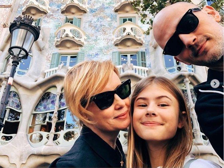 Dcera Jitky Schneiderové a Davida Švehlíka Sofie Anna už je krásná slečna!