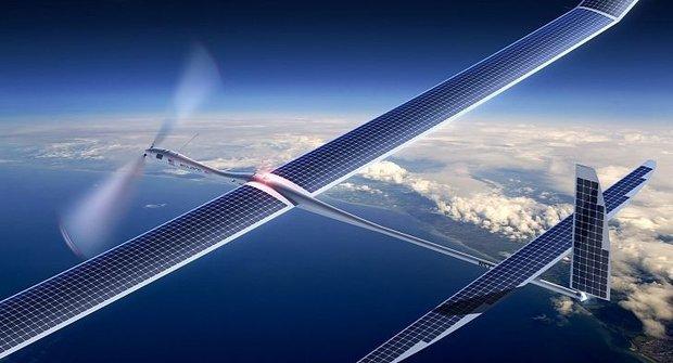 Jak létá dron Solara 50?