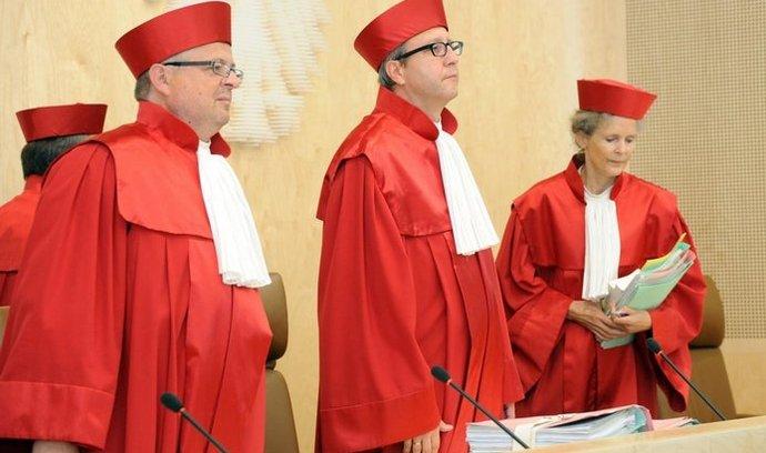 Soudci německého ústavního soudu