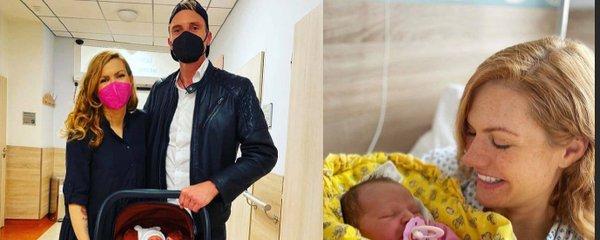 Gábina Soukalová s holčičkou už jsou doma z porodnice: Partner vše na příchod připravil