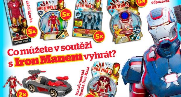 Soutěžte s ábíčkem a Iron Manem!