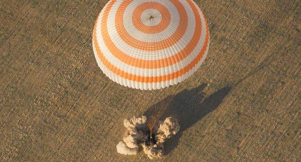 Jak přistává vesmírný modul? Jako vrtulník?