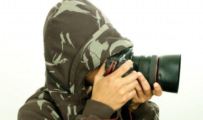 špion, fotograf