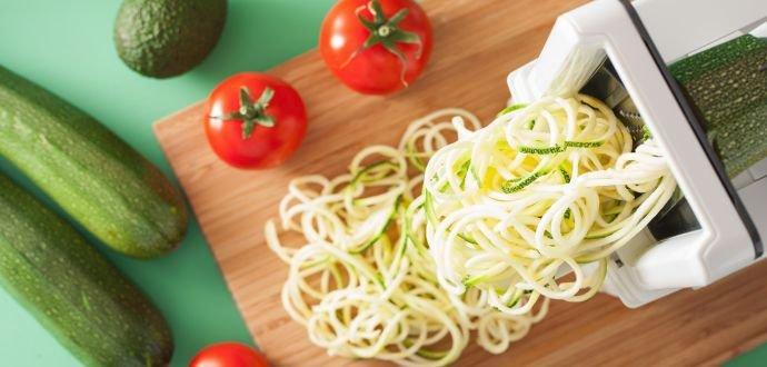 Špiralizér: premeňte zeleninu na špagety