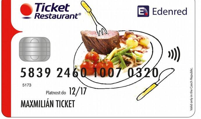 Společnost Edenred spouští Ticket Restaurant Card
