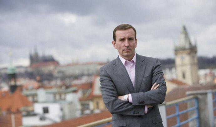 Spoluzakladatel skupiny Penta Marek Dospiva