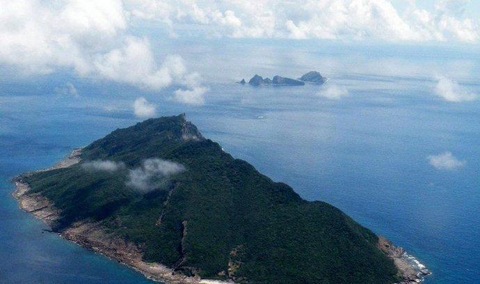 Sporné souostroví Senkaku ve Východočínském moři