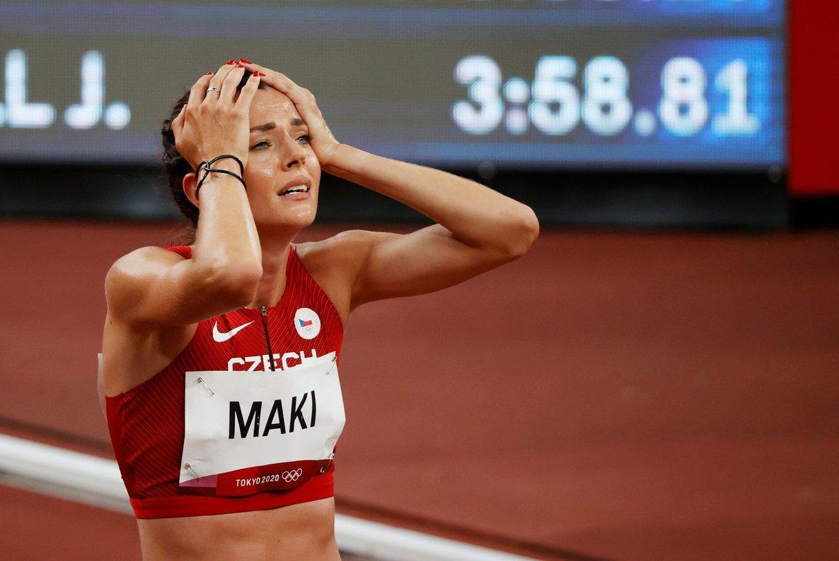 Kristiina Mäki zaběhla nový rekord v běhu na 1 500 metrů v olympijském semifinále a čeká ji finále.