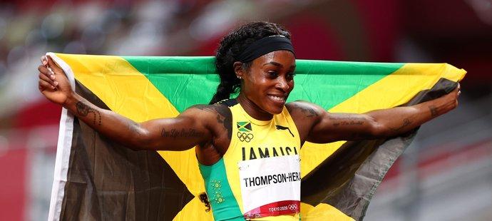 Elaine Thompsonová-Herahová získala v Tokiu sprinterský double