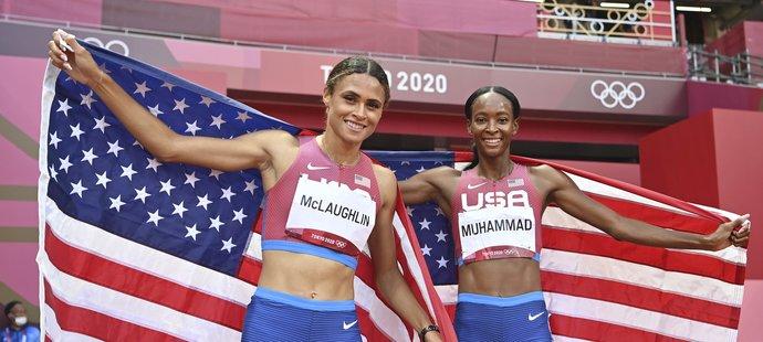 McLaughlinoá předčila v cíli krajanku Muhammadovou