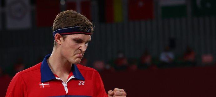 Dán Viktor Axelsen opanoval turnaj badmintonistů bez ztráty setu