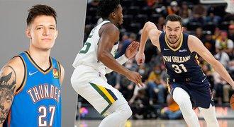 Češi v NBA: Dejte nám minuty! Jaké jsou pozice Satoranského a Krejčího?