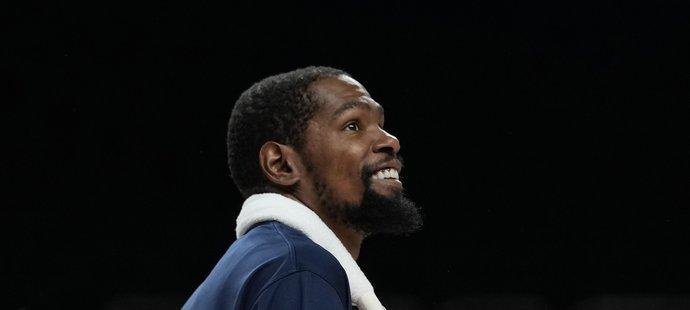 Hvězda USA Kevin Durant