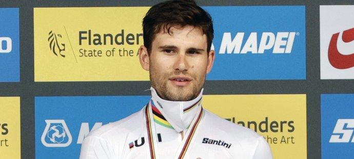 Filippo Ganna obhájil titul mistra světa v časovce