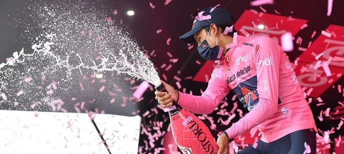 Statistiky Giro d´Italia: Etapy pro domácí Italy, kraloval Bernal
