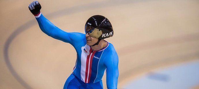 Tomáš Bábek je mistrem Evropy na kilometr s pevným startem