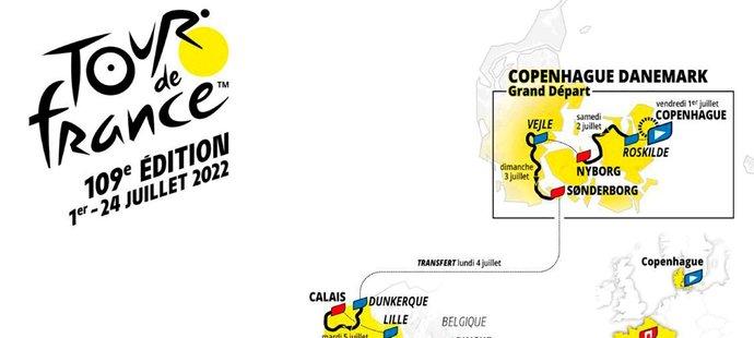 Trasa Tour de France, ročník 2022