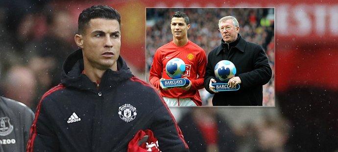 Legendární trenér Alex Ferguson se vyjádřil k tomu, že Cristiaono Ronaldo zůstal proti Evertonu jen mezi náhradníky