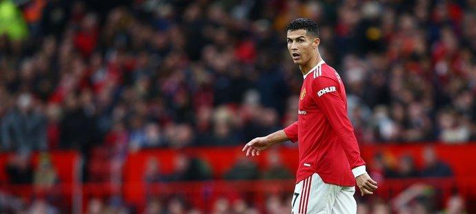 Cristiano Ronaldo byl po remíze s Evertonem rozladěný