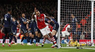 Arsenal se rozjel. Jasná výhra nad Aston Villou a posun do první poloviny PL