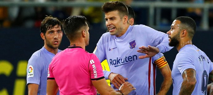 Fotbalisté Barcelony nevyhráli v třetím zápase v řadě. S Cádizem remizovali 0:0