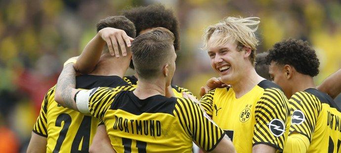 Dortmund slaví výhru nad Augsburgem