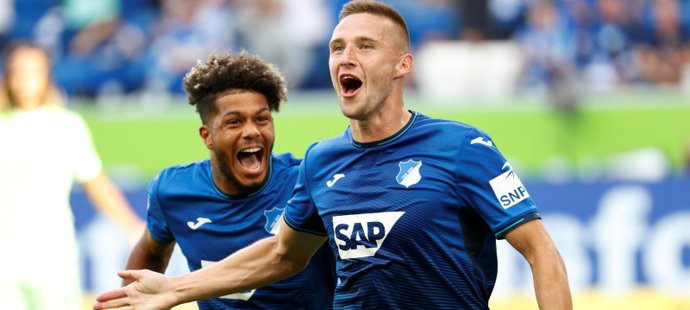 Pavel Kadeřábek se blýskl gólem a asistencí při výhře Hoffenheimu nad Wolfsburgem (3:1)