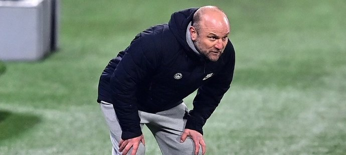 Liberecký trenér Pavel Hoftych