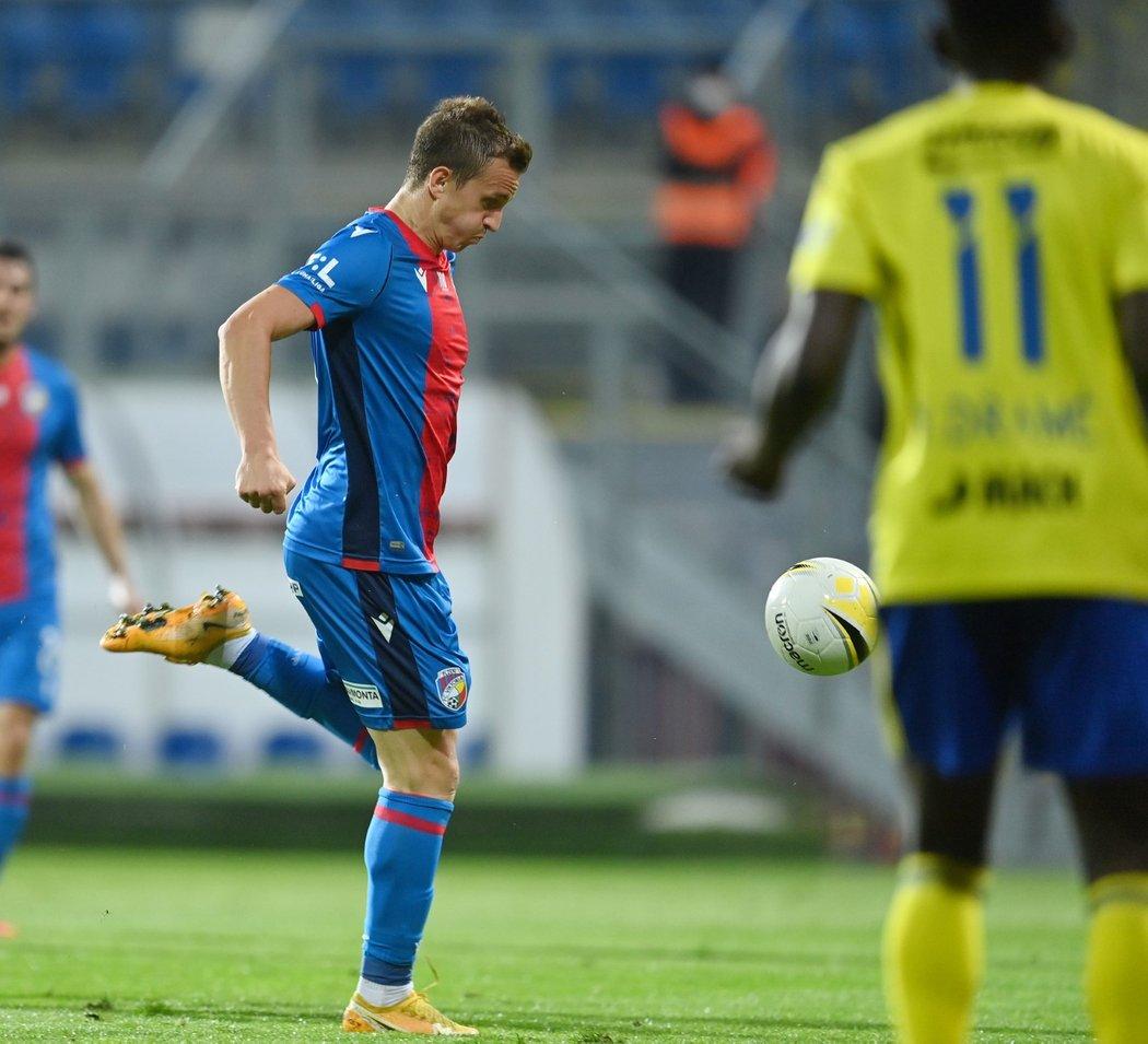 Jan Kopic v zápase se Zlínem